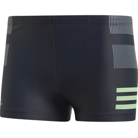 adidas Fitness Colourblock 3 Stripes Costume a pantaloncino Uomo nero
